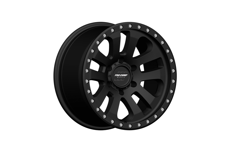 Pro Comp 46 Series Prodigy Satin Black Wheel 18x9 8x6.5
