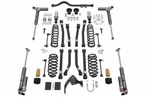 Teraflex Alpine RT3 Short Arm Lift Kit - w/Falcon 3.3 Adjust. Shocks - JK 4dr
