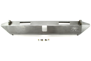 Poison Spyder BFH II Rear Bumper Bare w/Tabs and Light Mounts - JK