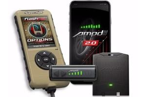Superchips Amp'd 2.0 Throttle Booster Kit w/ Flashcal  - JK