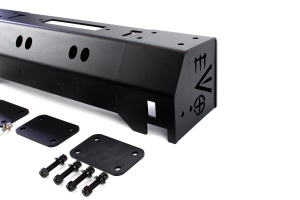 EVO Manufacturing Quarter Pounder Front Bumper Black ( Part Number: 1112B)