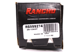 Rancho Performance RS9000XL Series Shock, Rear 4IN Lift  (Part Number: )