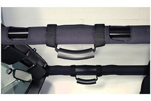 Rugged Ridge Deluxe Grab Handles Black  (Part Number: )