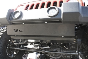 Rock Hard 4x4 Front Bumper Skid Plate for Plastic (Part Number: )