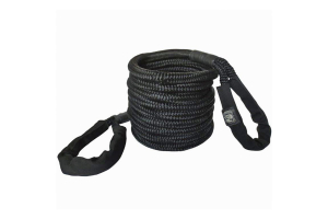 Bulldog Winch Recovery Rope 30' Black (Part Number: )