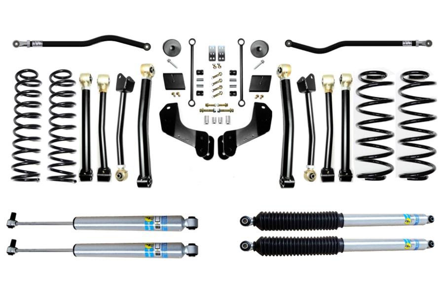 Evo Manufacturing 2.5in Enforcer Overland Stage 4 PLUS Lift Kit w/ Bilstein Shocks - JL