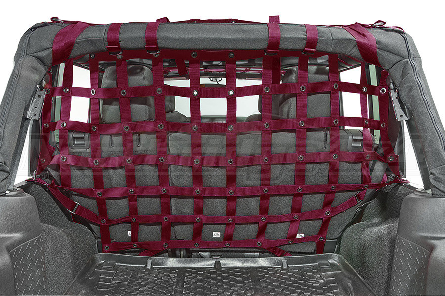 Dirty Dog 4x4 Cargo/Pet Divider Maroon (Part Number:J4PC07R3MR)