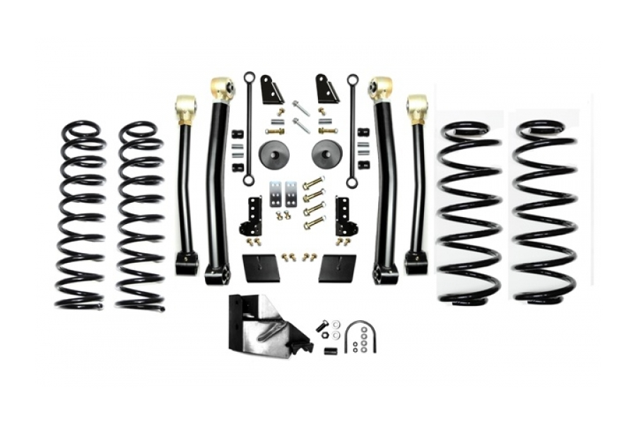 EVO Manufacturing 3.5in Enforcer Lift Kit w/Shock Extensions Stage 3 (Part Number:3013S3EXT)