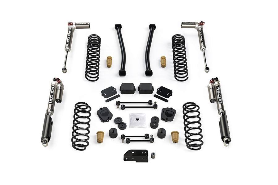 Teraflex 2.5in Sport ST2 Suspension Lift Kit w/ Falcon SP2 3.3 Shocks - JL 4Dr