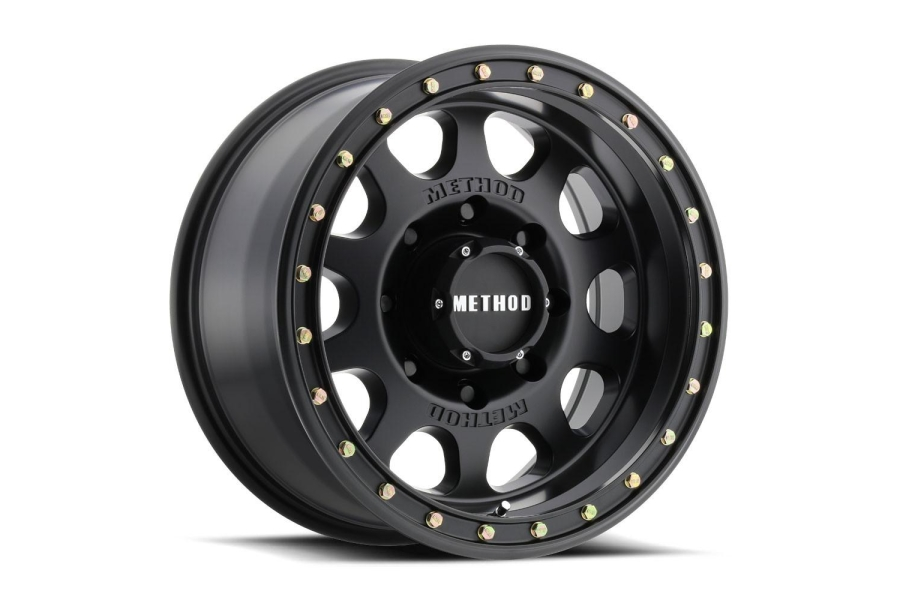 Method Race Wheel MR311 Vex Series Non-Beadlock Wheel, Matte Black 17x8.5 5x5  (Part Number:MR31178550500)