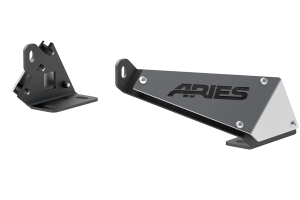 Aries Automotve Jeep Hood Light Mounting Brackets - JK