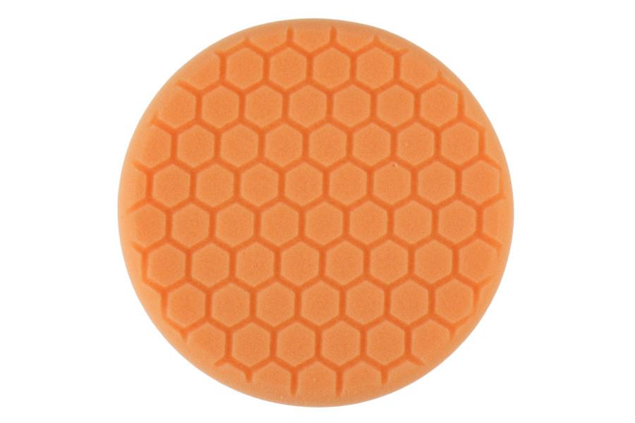Chemical Guys Orange Hex-Logic 7.5in Medium-Heavy Cutting Pad