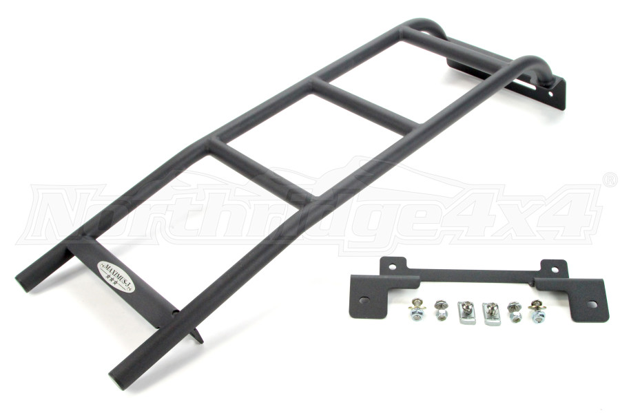 Maximus-3 Roof Side Ladder Black (Part Number:JK3005RL)