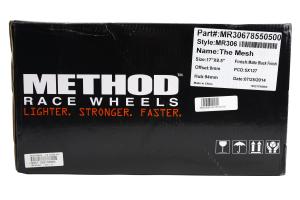 Method Race Wheels Mesh Series Wheel Matte Black 17x8.5 5x5 - JT/JL/JK