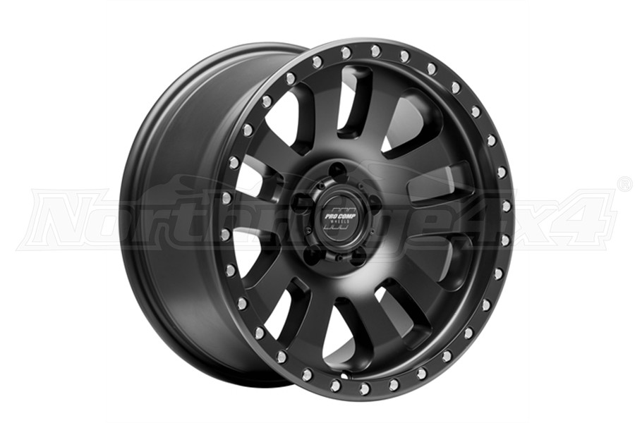 Pro Comp 46 Series Prodigy Wheel 17x9 5x5 Satin Black (Part Number:7046-7973)