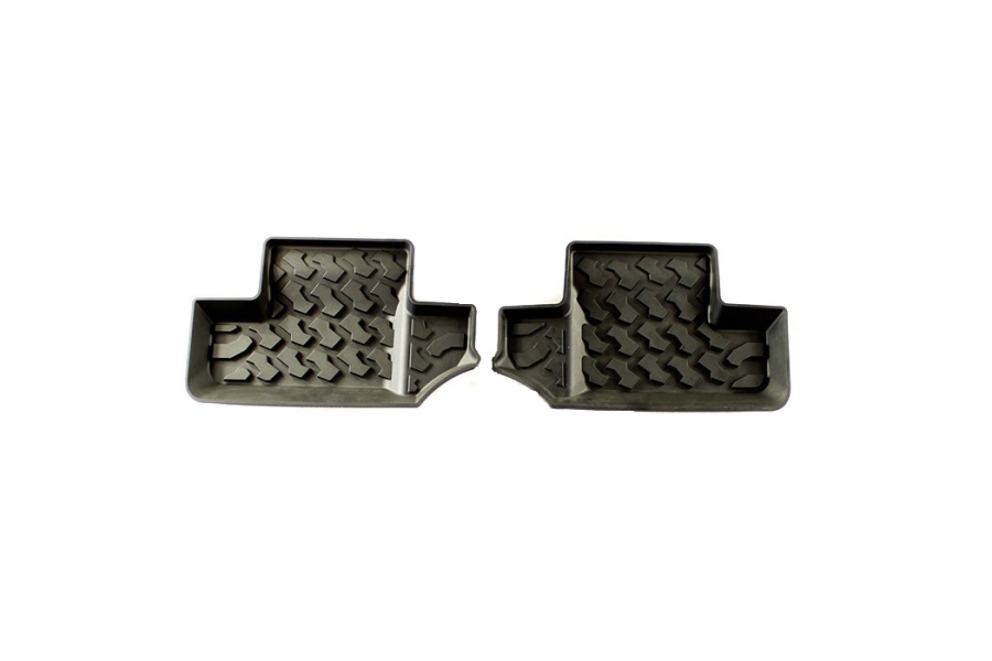 Bestop Rear Floor Liners (Part Number:51502-01)
