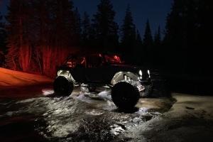 KC Hilites Cyclone 6-Light LED Rock Light Kit - Clear