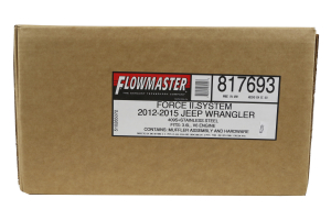 Flowmaster Force II Axle Back (Part Number: )