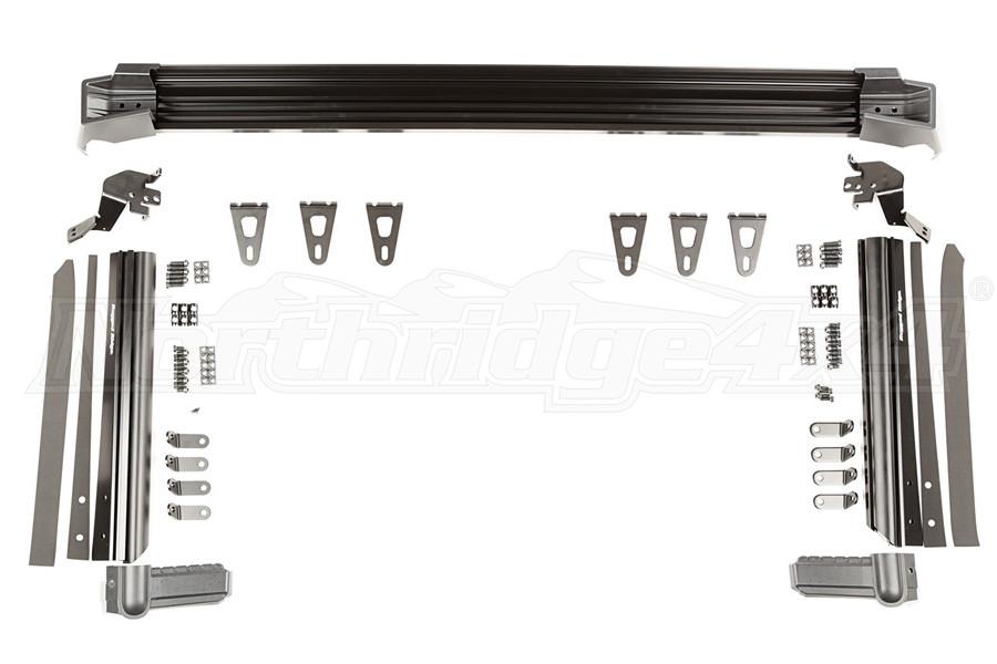 Rugged Ridge Elite Fast Track Windshield Light Bar Mounting Brackets (Part Number:11232.50)