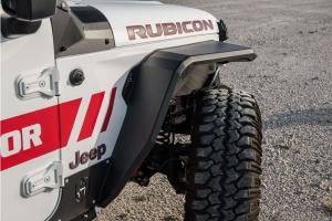 Road Armor Stealth Front Fender Flare w/Switchback DRL - JT/JL