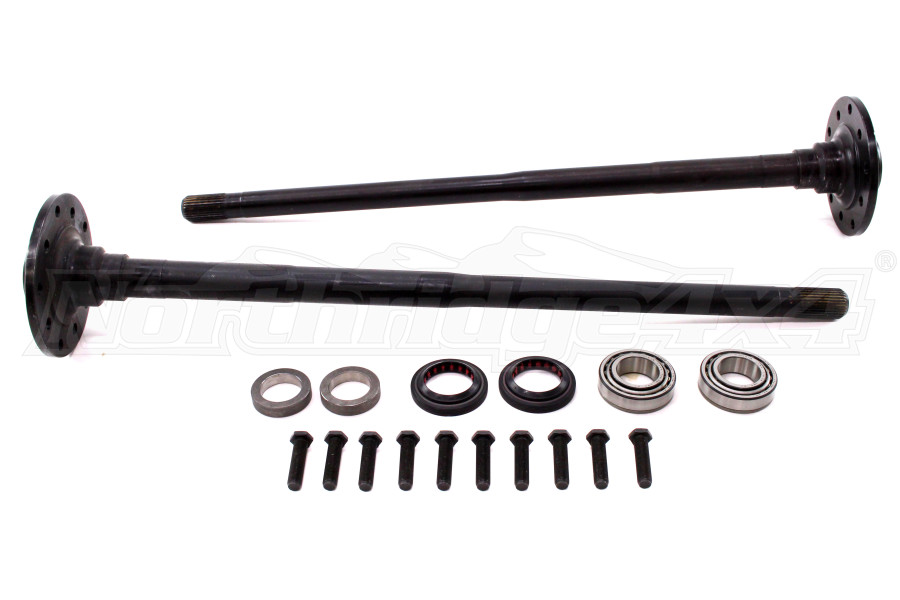 G2 Axle and Gear Dana 44 Chromoly Axle Kit Rear 30 Spline