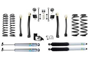 Evo Manufacturing 3.5in Enforcer Stage 3 Lift Kit w/ Bilstein Shocks - JL