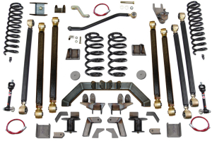 Clayton 5.5in Pro Series 3 Link Long Arm Lift Kit w/Rear 5in Stretch (Part Number: )