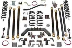 Clayton 5.5in Pro Series 3 Link Long Arm Lift Kit w/Rear 5in Stretch - TJ