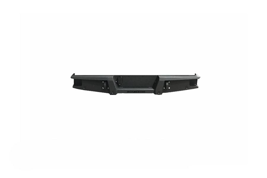 Iron Cross Full Width Rear Bumper - Black - JT