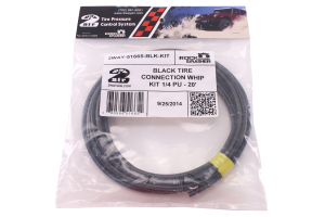 Wild Boar Tire Connection Whip Kit 1/4in X 20ft Black (Part Number: 2WWP14BLK-46867)