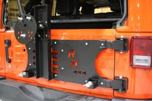 Rock Hard 4X4 Freedom Series Body Mount Tire Carrier  - JK