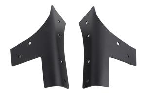 Kentrol Windshield Support Set - Textured Black  - JK
