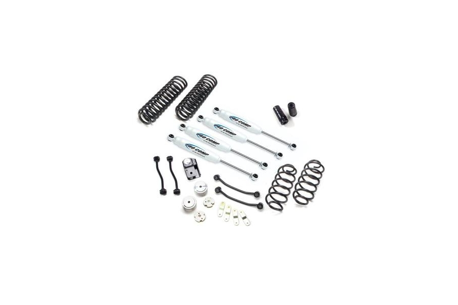 Pro Comp 4in Stage I Lift Kit with Front/Rear ES9000 Shocks (Part Number:K3086B)