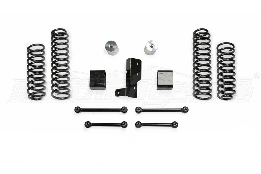 Fabtech 3in Sport System Component Box - JL 4dr