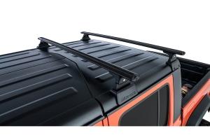 Rhino Rack Vortex Black 2 Bar Roof Rack w/ Backbone and RTL600 Legs   - JT