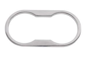 Kentrol Cup Holder Bezel - Polished Silver  - JK 2007-10