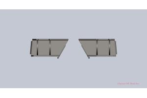 Clayton Rear Frame Brackets (Part Number: )