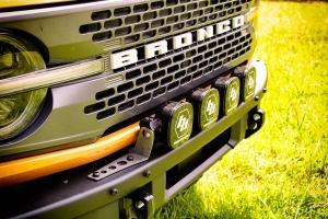 Motobilt Bumper Mount for Baja Designs Linkable Lights - Ford Bronco