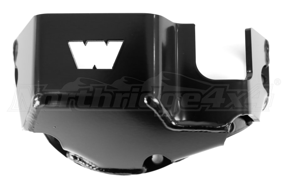 Warn Dana 44 Skid Plate Black ( Part Number: 65447)