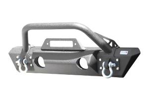 Fishbone Offroad Stubby Front Winch Bumper - JT/JL