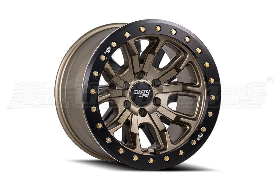 Wheel 1 Dirty Life DT-1 9303 Series Wheel Matte Gold 17x9, 5x5 (Part Number:9303-7973MGD12)