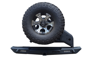 Ace Engineering Pro Series Rear Bumper w/Tire Carrier ( Part Number: TJRBTCNO)