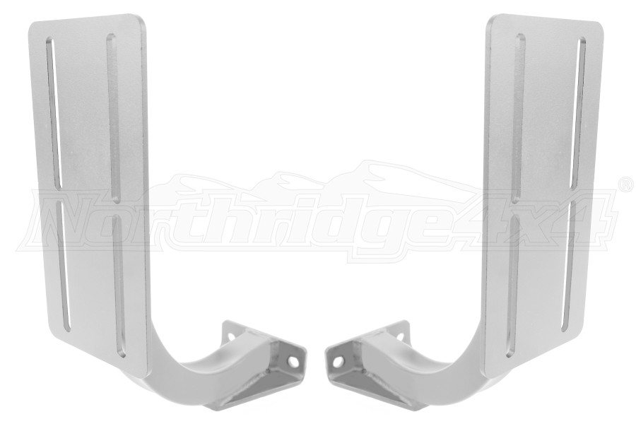 LOD Horizontal Rotopax 2/3 Gallon Container Mount Pair Bare Steel (Part Number:JRP0762)