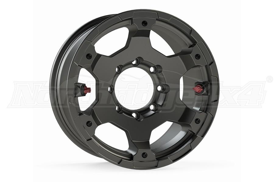 Teraflex Deluxe Nomad Titanium Gray Wheel - 17x8.5 8x6.5in