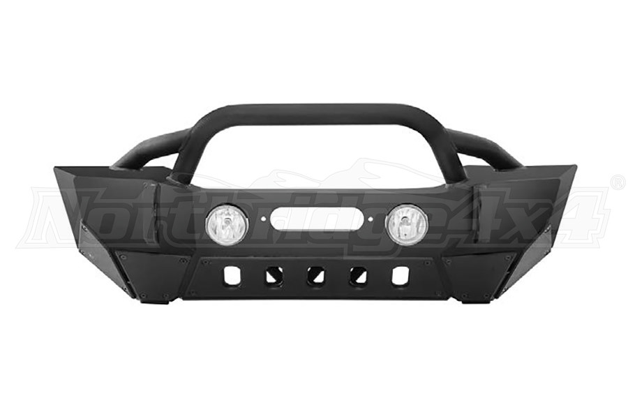 Smittybilt Gen 2 XRC Front Bumper, Light Texture (Part Number:76807LT)