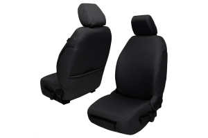 BARTACT Baseline Seat Covers Front Pair Black - JK 2007-10