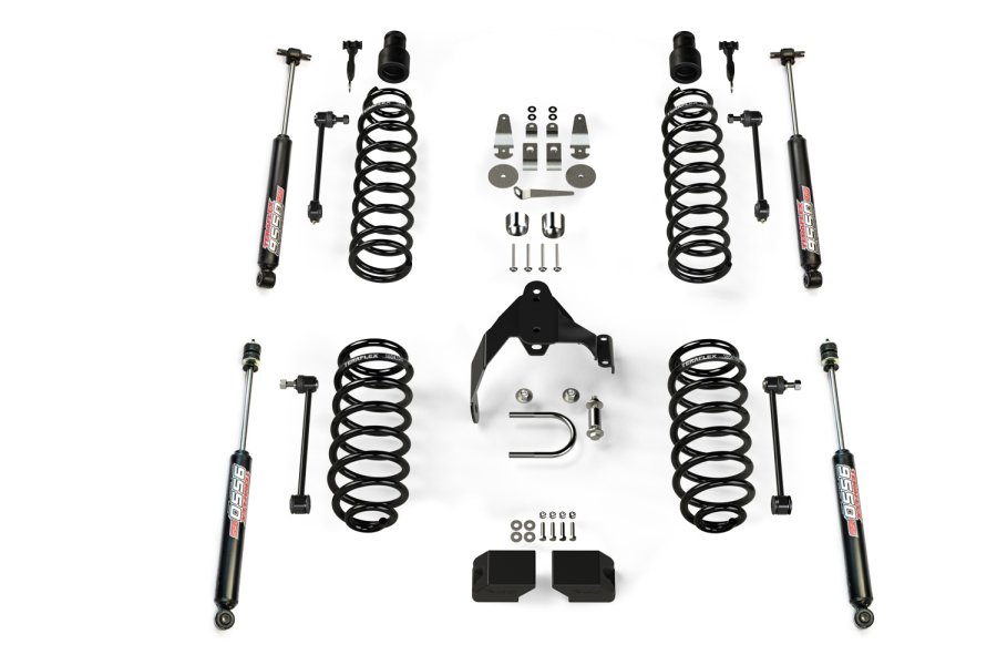 Teraflex 3in Lift Kit, w/9550 Shocks (Part Number:1251200)