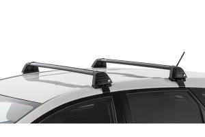 Rhino Rack Vortex ROC25 Flush Black 2 Bar Roof Rack - Length - Front 1019mm, Rear 1011mm