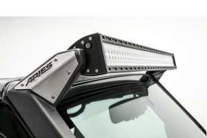 Aries Jeep Roof Light Mounting Brackets - JK