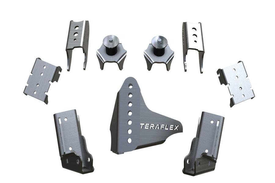 Teraflex JK Rear CRD60 Axle Bracket Kit (Part Number:3990007)